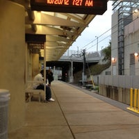 Photo taken at MetroLink - Forest Park Station by Phil S. on 10/20/2012