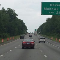 Photo taken at Interstate 495 by Julie S. on 7/4/2014