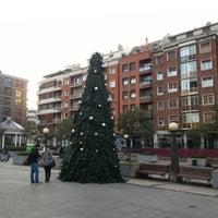 Photo taken at Plaza San Pedro de Deusto by Jose S. on 11/23/2012