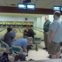 Photo taken at All Star Lanes by Stephanie M. on 6/30/2012
