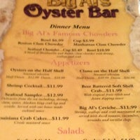 Photo taken at Big Al's Oyster Bar by Michael C. on 5/20/2012