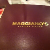 Photo taken at Maggiano's Little Italy by Aaron H. on 7/3/2012