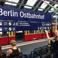 Photo taken at Berlin Ostbahnhof by Jag B. on 8/14/2012