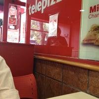 Photo taken at Telepizza by Ignacio B. on 2/23/2012