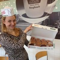 Photo taken at Krispy Kreme Doughnuts by Mera C. on 3/8/2012