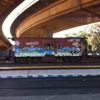 Photo taken at South San Francisco Caltrain Station by Phillip K. on 5/25/2012