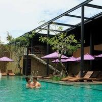 Photo taken at Centra Taum Resort Seminyak by Barbaris on 4/14/2012