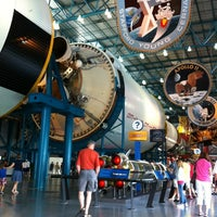 Photo taken at Apollo/Saturn V Center by Janet S. on 3/1/2012