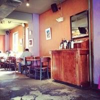 Photo taken at One World Café by Jui Ko C. on 7/8/2012