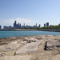 Photo taken at Fullerton Beach by Neda M. on 5/11/2012