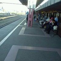 Photo taken at KTM Line - Sungai Buloh Station (KA08) by calvin k. on 4/25/2012