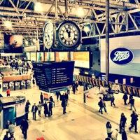 Photo taken at London Waterloo Railway Station (WAT) by Michael E. on 7/15/2012