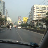 Photo taken at Phetchaburi Road by m13w m. on 3/12/2012
