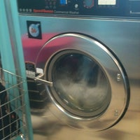 Photo taken at Bubbleland Laundromat by Jessica Ma. on 7/29/2012