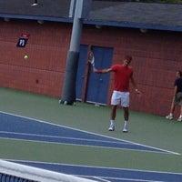 Photo taken at Practice Courts (1-5) - USTA Billie Jean King National Tennis Center by Natalie S. on 8/29/2012