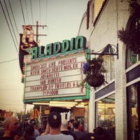 Photo taken at Aladdin Theater by Aaron C. on 8/18/2012