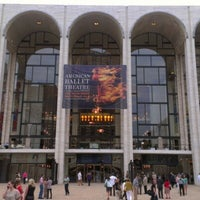 Photo taken at American Ballet Theatre at the Metropolitan Opera House by Matthew S. on 6/19/2012