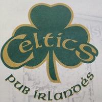 Photo taken at Celtics Pub by Israel F. on 4/27/2012