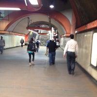 Photo taken at Metro Mixcoac (Líneas 7 y 12) by Inti A. on 5/30/2012