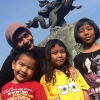 Photo taken at Patung Diponegoro by Mahmur M. on 5/6/2012