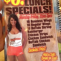 Photo taken at Hooters by Roger H. on 2/29/2012