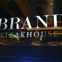 Photo taken at Brand Steakhouse & Lounge by 360 Vegas M. on 7/24/2012