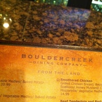 Photo taken at Boulder Creek Dining Company by Chris R. on 2/26/2012