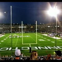 Photo taken at Rentschler Field by Jen on 8/30/2012