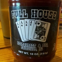 Photo taken at Full House Restaurant and BBQ by Robby P. on 8/26/2012