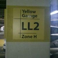 Photo taken at Galleria Yellow Garage by Garvin W. on 2/10/2012