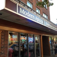 Photo taken at Modern Apizza by Malcolm B. on 8/18/2012