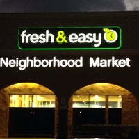 Photo taken at Fresh & Easy Neighborhood Market by Cooper J. on 11/16/2014