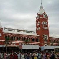 Photo taken at Chennai Central Sub Urban Station by Andreas E. on 7/9/2013