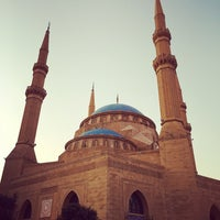 Photo taken at Mohammed Al-Amin Mosque by Andreas E. on 11/4/2016