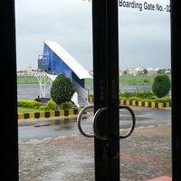 Photo taken at Rajkot Airport (RAJ) by Emon M. on 7/28/2014