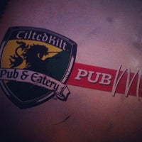 Photo taken at Tilted Kilt Pub & Eatery by Matthew W. on 10/19/2012