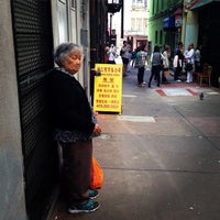 Photo taken at Ross Alley by Leland W. on 6/24/2015