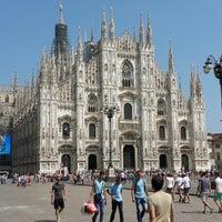 Photo taken at Milan Cathedral by Eugen on 7/14/2013