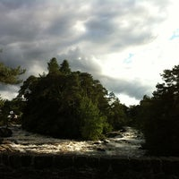 Photo taken at Falls Of Dochart by Valezot on 8/16/2013