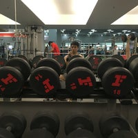 Photo taken at Fitness First by Voradej R. on 9/11/2016