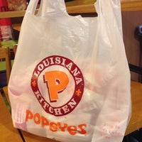 Photo taken at Popeyes by NamChul S. on 1/3/2014