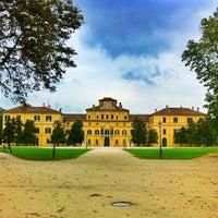 Photo taken at Parco Ducale Parma by Matti K. on 10/1/2012