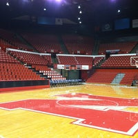 Photo taken at Bob Devaney Sports Center by Garrett W. on 3/7/2013