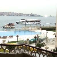 Photo taken at Four Seasons Hotel Bosphorus by musa d. on 2/19/2013