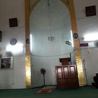Photo taken at Masjid Angullia (Mosque) by Saido S. on 11/2/2014