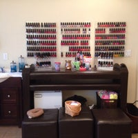 Photo taken at My' Amour Salon and Spa by Kimmie S. on 3/8/2014