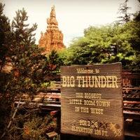 Photo taken at Big Thunder Mountain Railroad by Eric C. on 12/1/2012