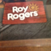 Photo taken at Roy Rogers / Nathan's by Lauren on 12/17/2012
