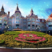 Photo taken at Disneyland® Paris by Dan A. on 7/9/2013