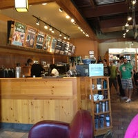 """Photo taken at Caribou Coffee by """"  Thomas D. on 4/13/2013"""